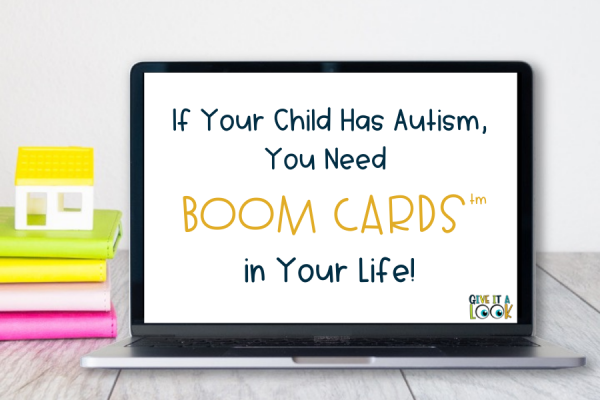 If your child has autism, you need Boom Cards in your life!